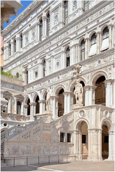 Le Palais des Doges, Venise, Italie
