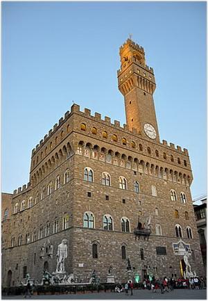 Le Palazzo Vecchio de Florence