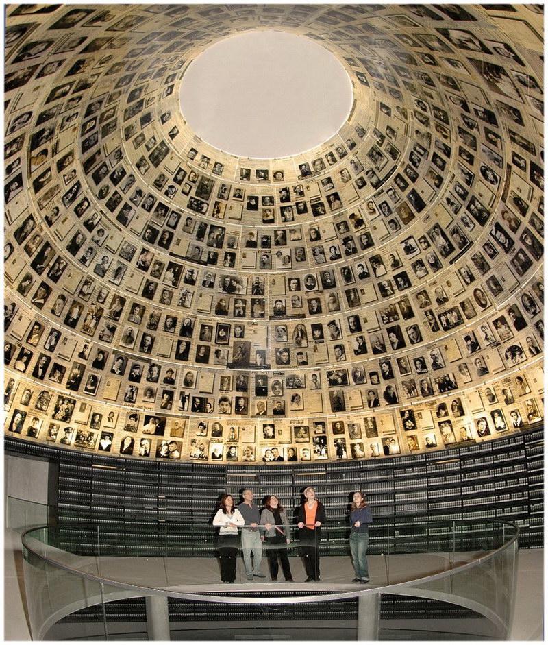 Le mémorial Yad Vashem à Jerusalem (Israël)