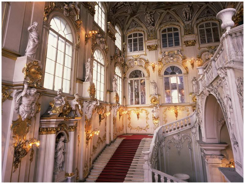 Le musée de l'Hermitage de Saint Petersburg (Russie)