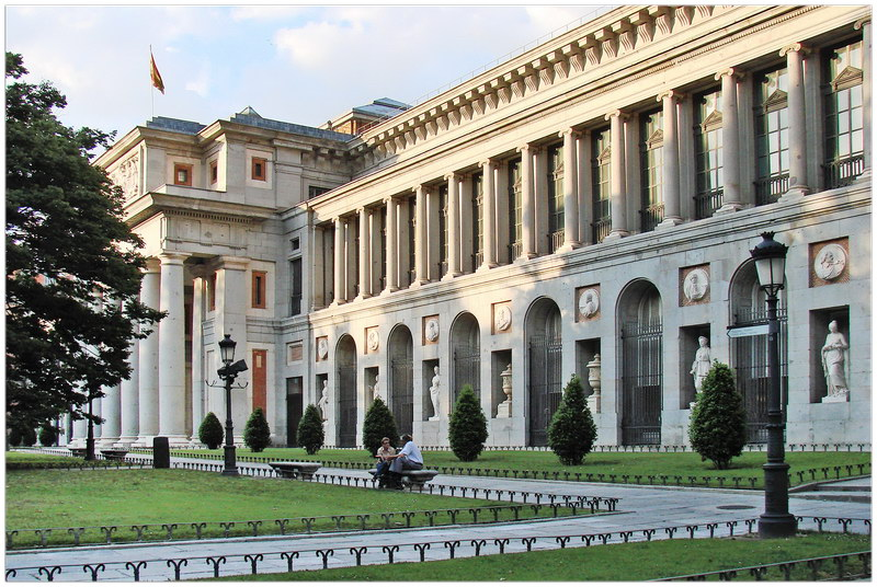 Le musée du Prado à Madrid (Espagne)