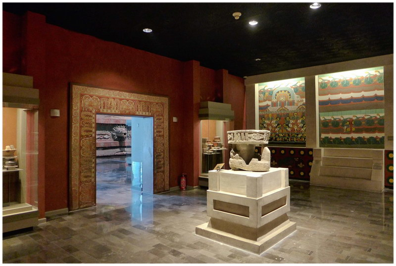 Le musée national d'anthropologie du Mexique (Mexique)