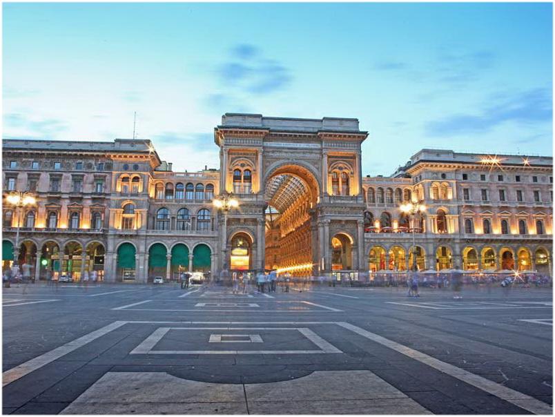 Milan, Gallerie, Vittoria, Italie