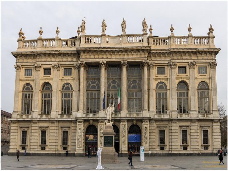 Palais Madame, Turin, Italie