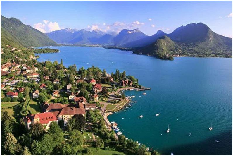 Talloires France  city photos gallery : Talloires, Haute Savoie, Rhône Alpes, France | Cap Voyage