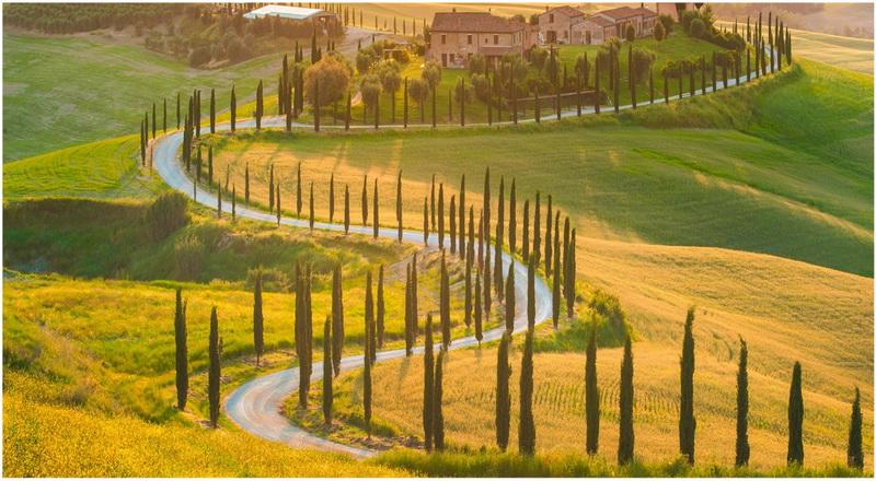 Toscane, Italie, Herman & Vandamme
