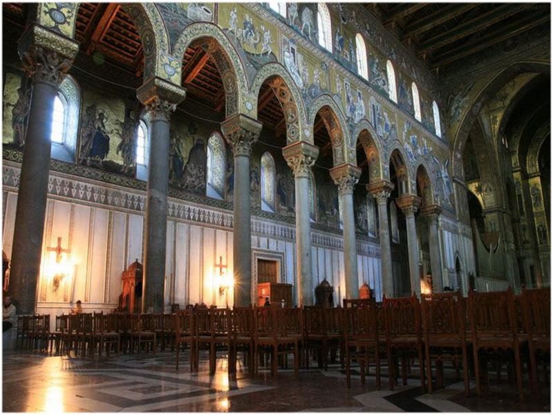cathédrale Santa Maria Nuova, Monreale, palerme, Italie