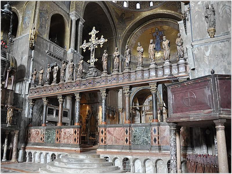 Eglise Basilique Saint Marc Venise Italie Cap Voyage