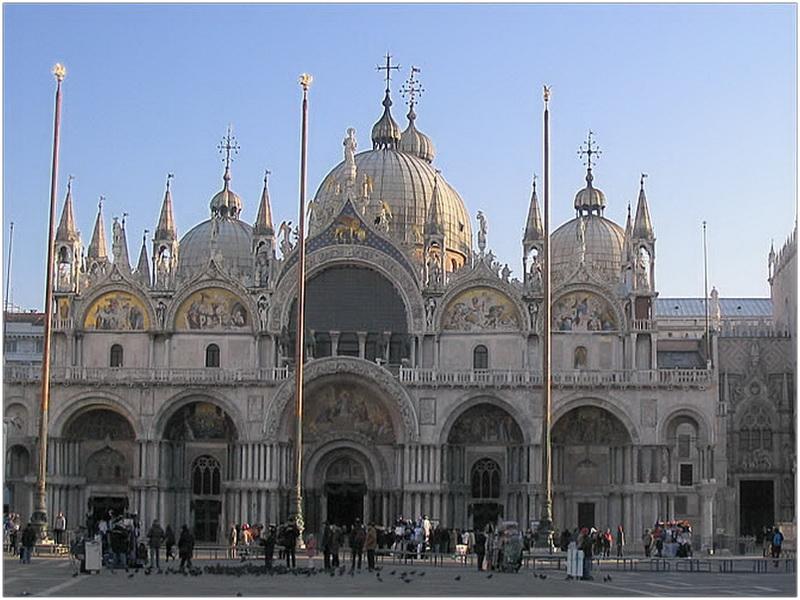 Eglise Basilique Saint Marc  Venise  Italie