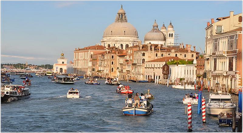 Basilique Santa Maria Della Salute, Venise, Italie