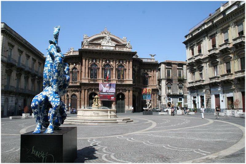 Catane, Sicile, Italie