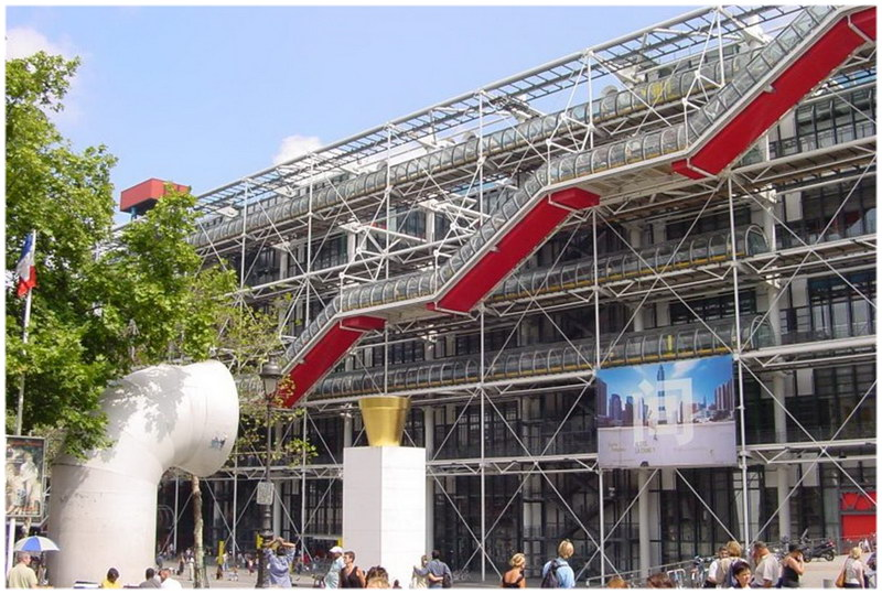 Centre Georges Pompidou – Paris