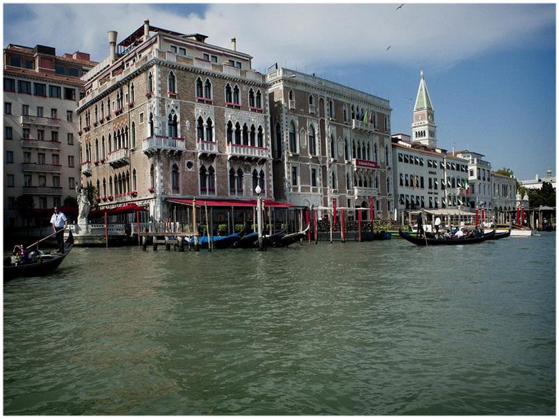 Grand Canal, Venise, Italie, Hotel Monaco & Grand Canal,