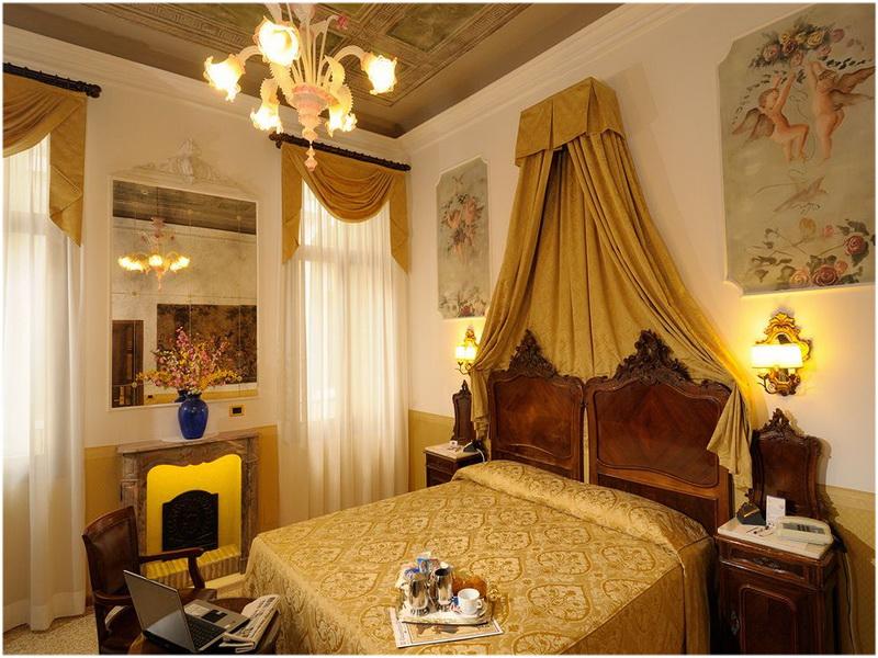 Hotel Ala, Venise, Italie, Chambres