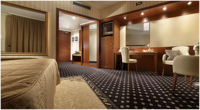 Hotel Ariston, Venise, Italie, Chambres