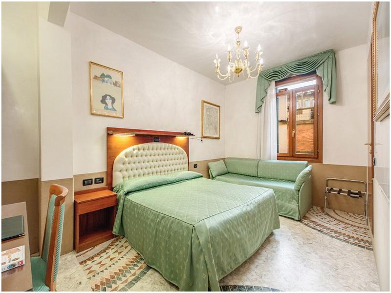 Hotel Atlantide, Venise, Italie, Chambres