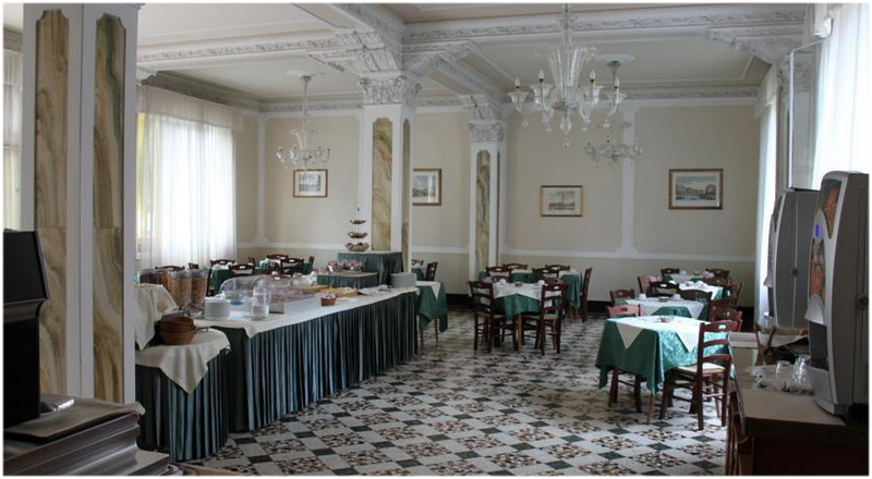Hotel Byron, Venise, Italie, Restaurants