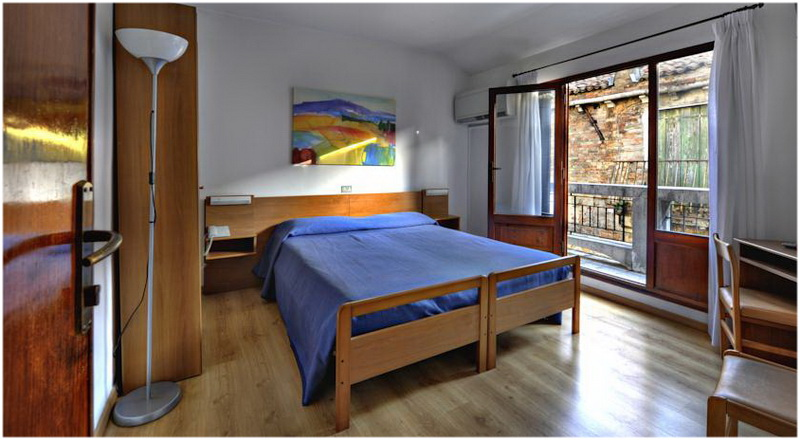 Hotel Caprera, Venise, Italie, Chambres