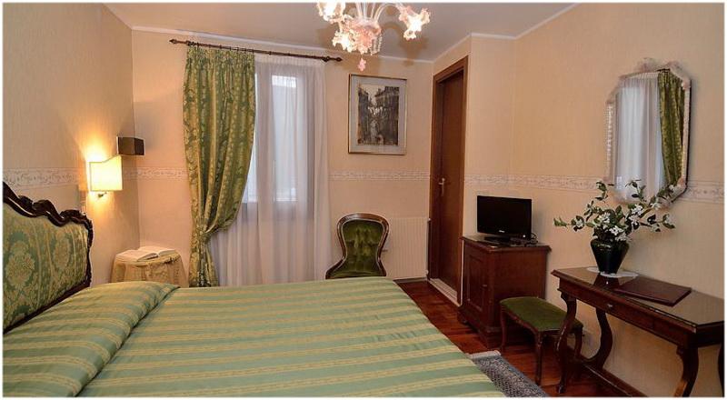 Hotel Da Bruno, Venise, Italie, Chambres