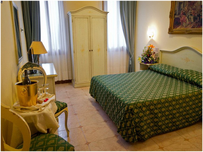 Hotel Florida, Venise, Italie, Chambres