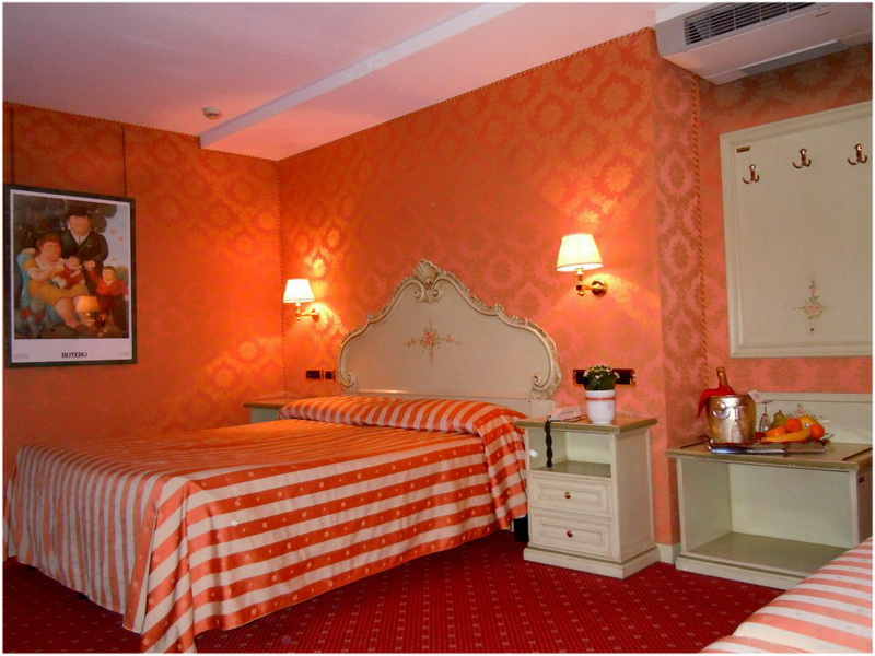 Hotel Lux, Venise, Italie, Chambres