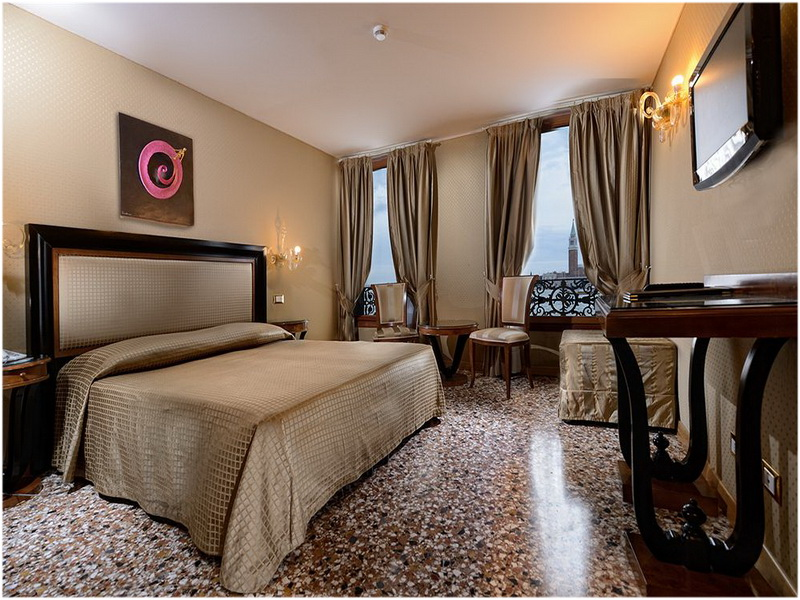 Hotel Paganelli, Venise, Italie, Chambres