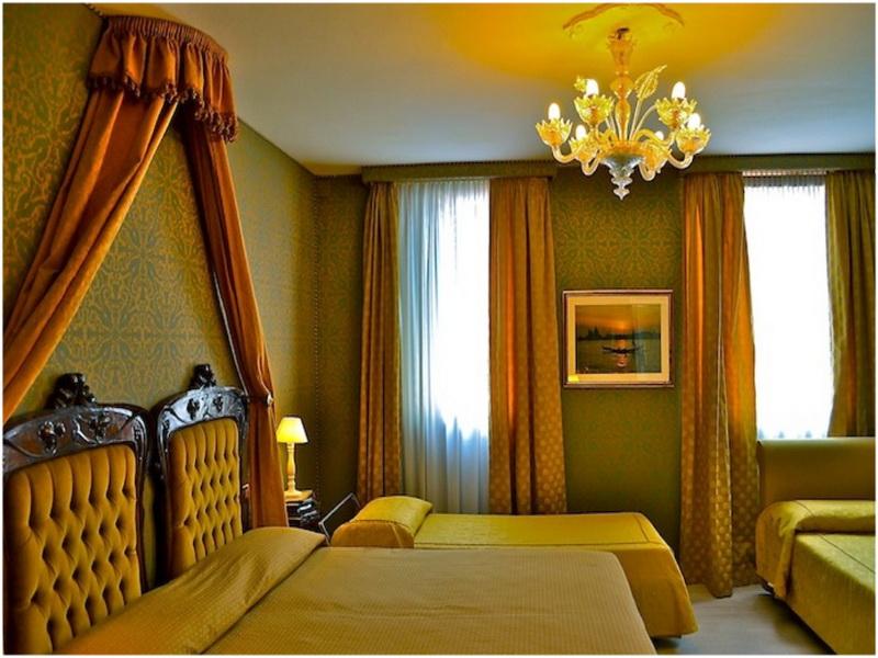 Hotel San Gallo, Venise, Italie, Chambres
