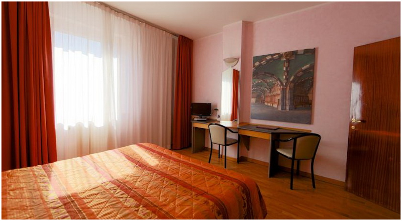 Hotel Turin, Aoste, Italie, Chambres
