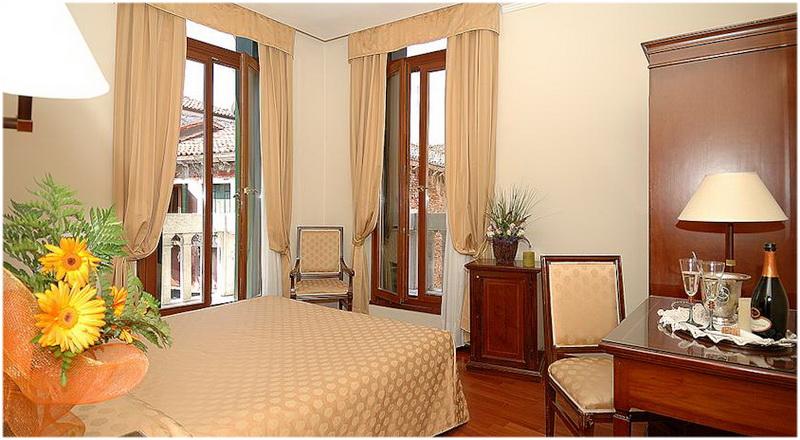 Hotel la Forcola, Venise, Italie, Vue sur Canal