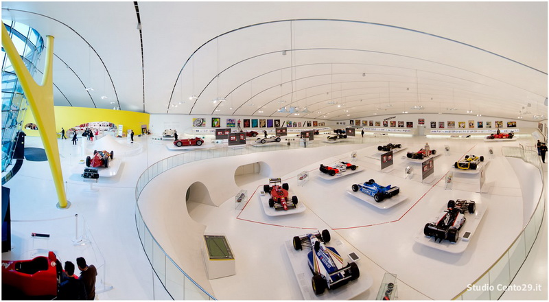 Modène, Émilie-Romagne, Italie, Musé Enzo Ferrari
