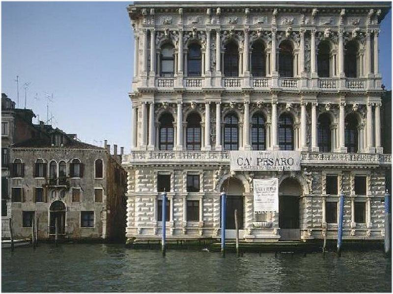 Palais Ca' Pesaro, venise, Italie
