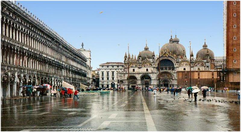 Hotel Venise Italie Place St Marc