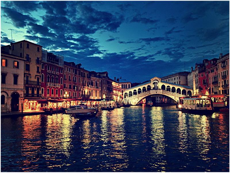 Pont Rialto, Venise, Italie
