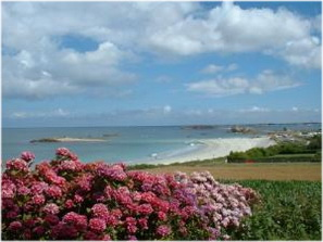 Trevou-Treguignec, Cotes-d'Armor, Bretagne, France, plage