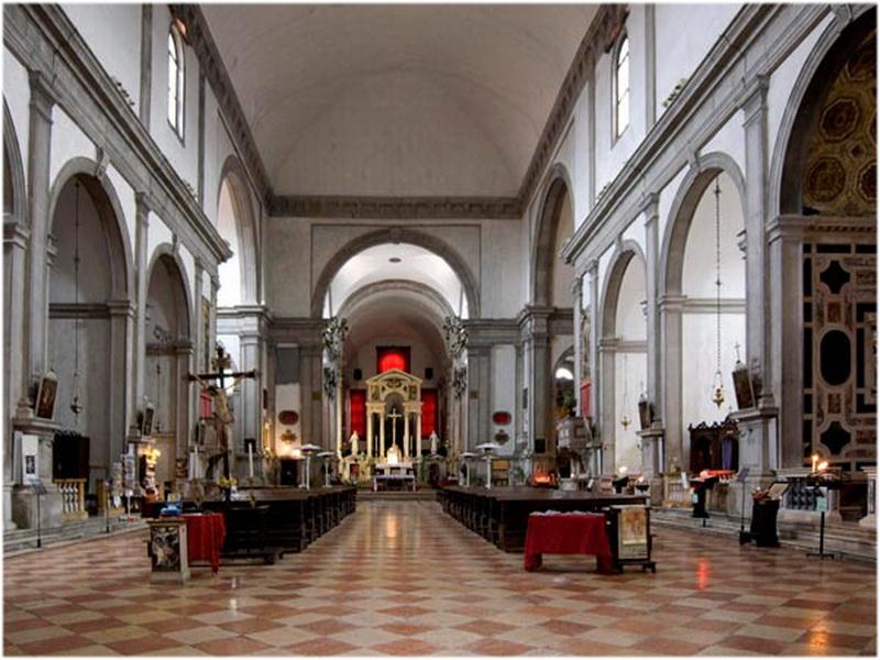 Église San Francesco della Vigna, Venise, Italie