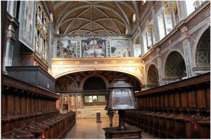 Église San Maurizio, Milan, Italie