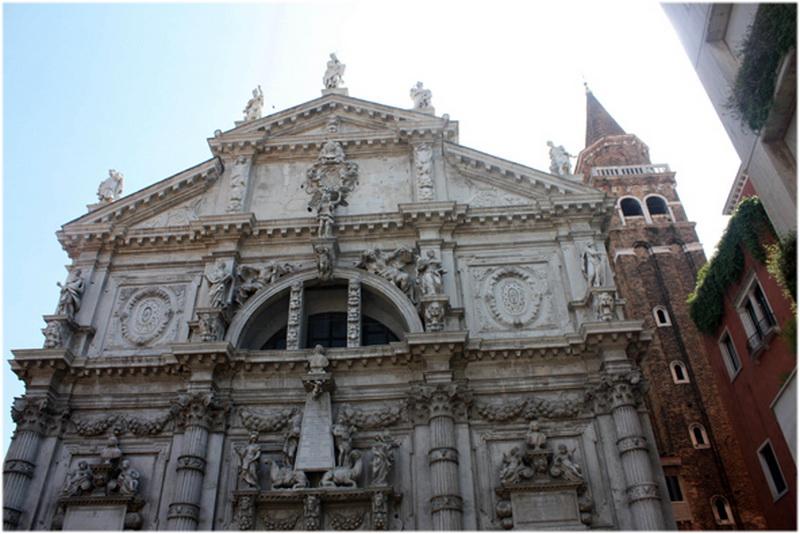 Église San Moisè, Venise, Italie