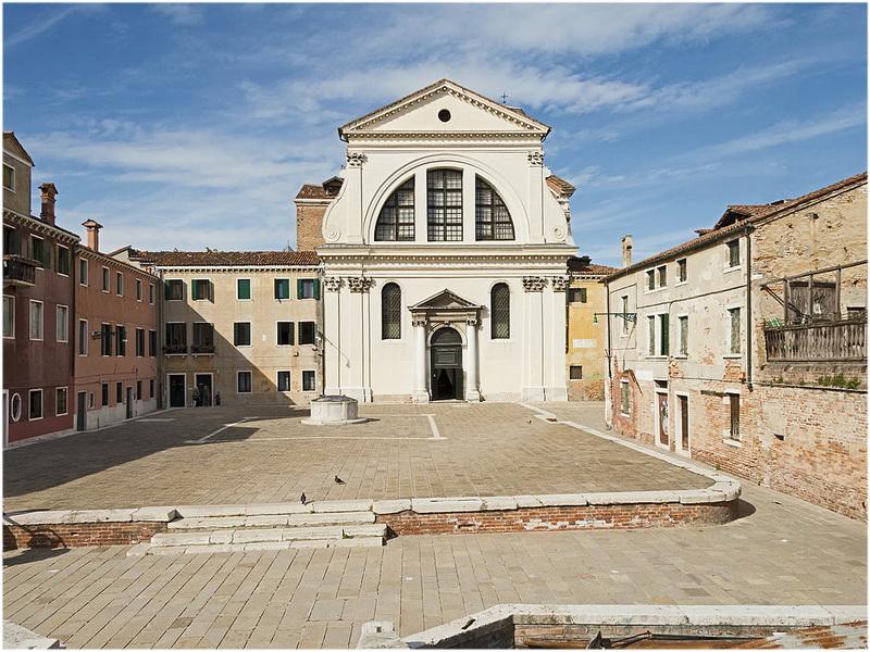Église San Trovaso, Venise, Italie