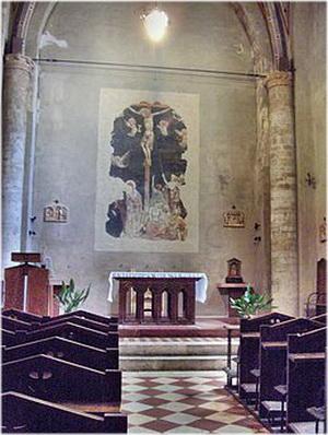 Église Santa Agata, Pérouse, Italie