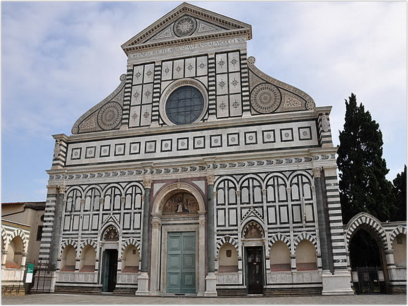 U00c9glise Santa Maria Novella  Florence  Italie