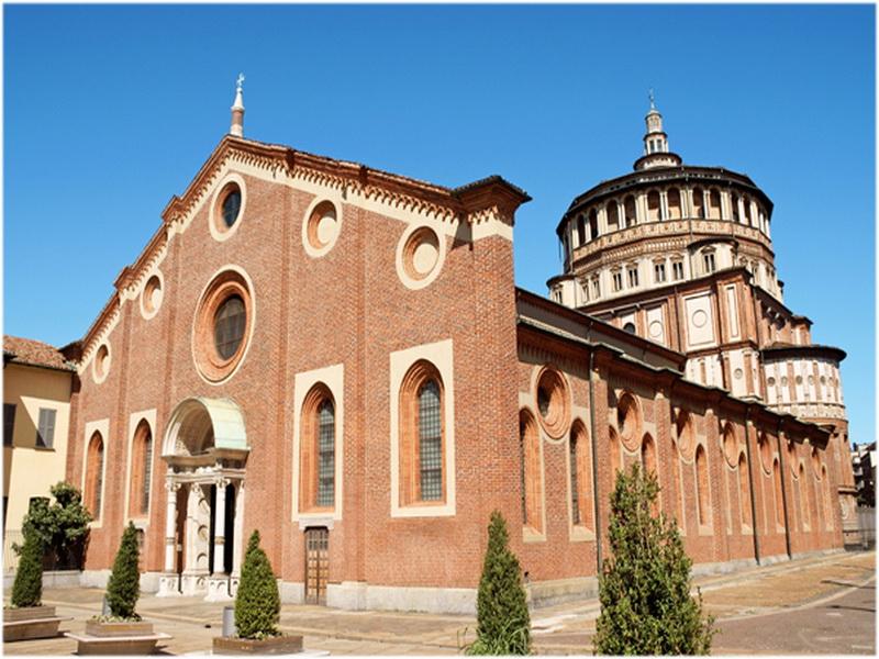 Église Santa Maria delle Grazie, Milan, Italie