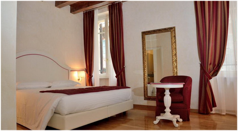 Albergo Mazzanti, Verone, Italie, Chambres