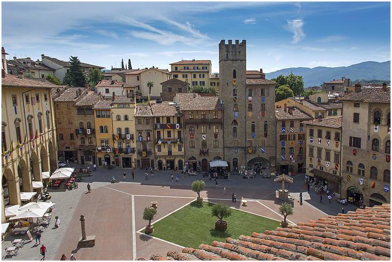 Arezzo, Toscane, Italie