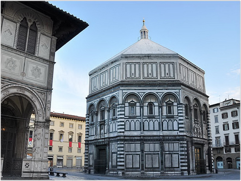 Baptistère Saint-Jean, Florence, Italie