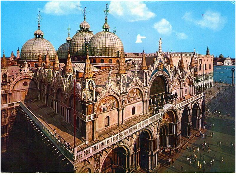 Basilique Saint Marc Venise Italie Cap Voyage