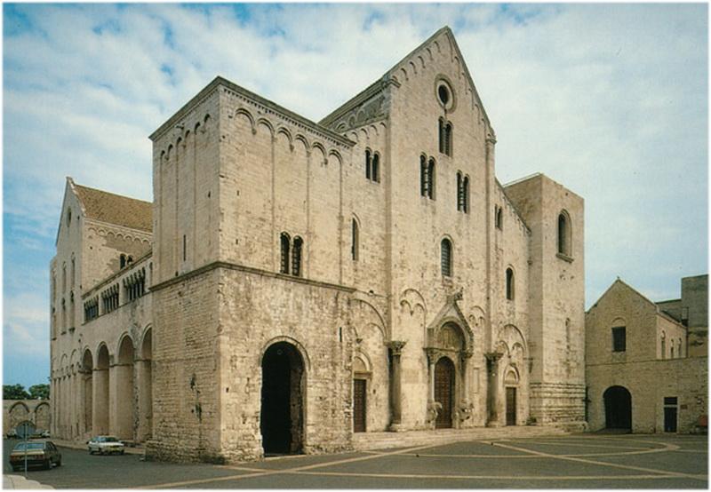 Basilique Saint Nicolas, Bari, Italie