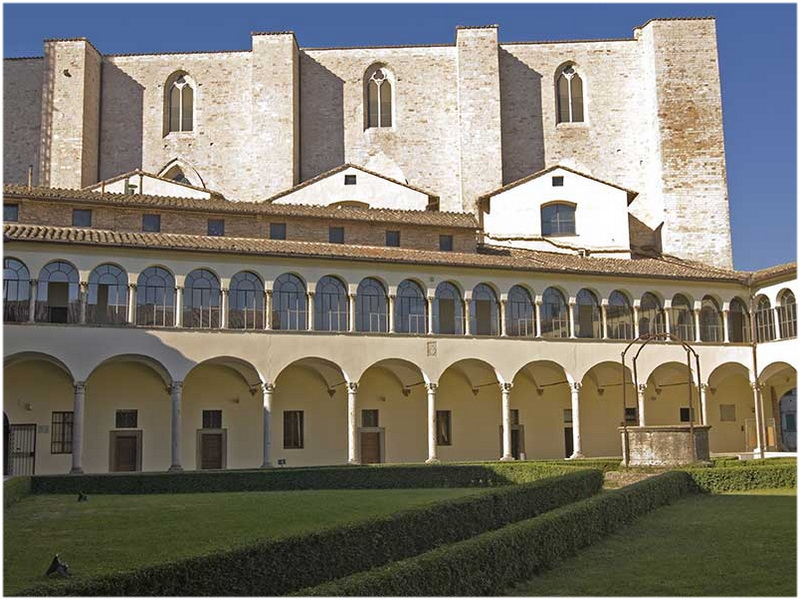 Basilique San Domenico, Pérouse, Italie
