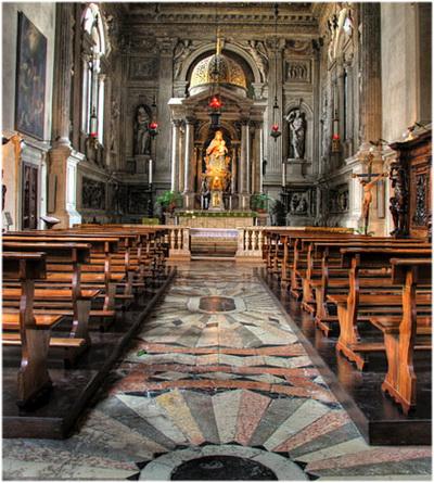 Basilique Santa Maria Gloriosa, Venises, Italie