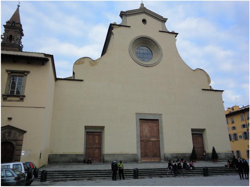 Basilique Santo Spirito, Florence, Italie