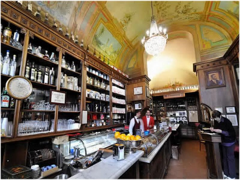 Café historique Sandri, Pérouse, Italie